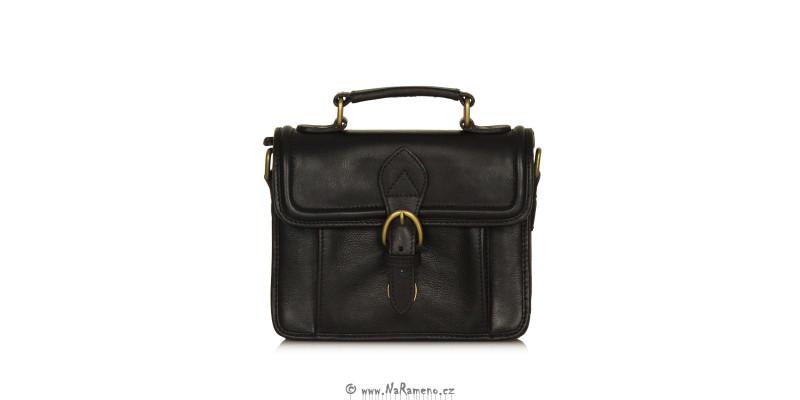 Pánská černá příruční taška na doklady Lotto S. od HIDESIGN