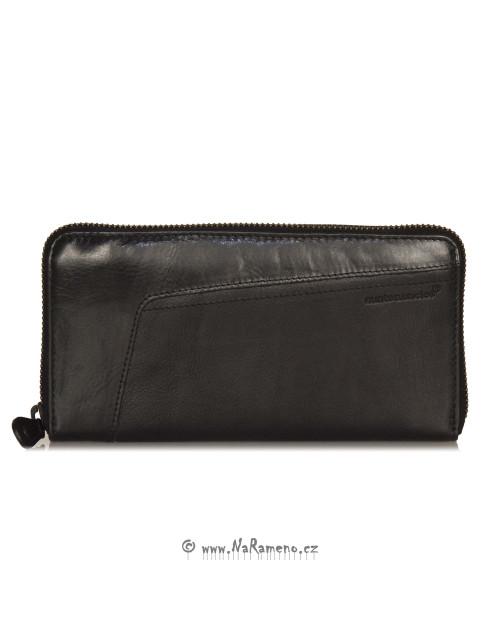 Pánská černá kasírka Aunts and Uncles peněženka na zip Amber