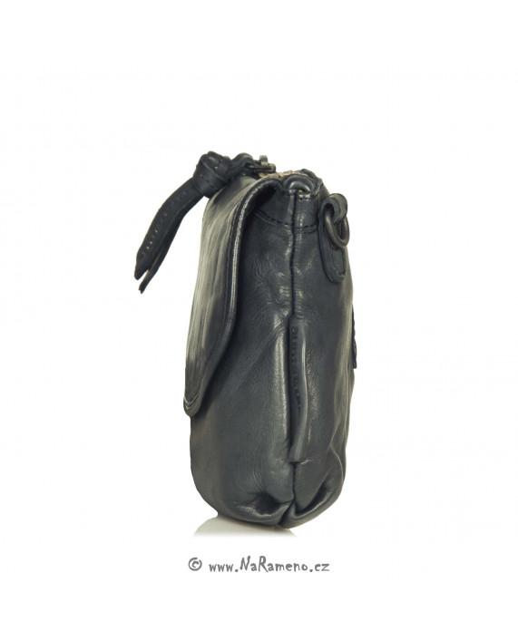 Malá kabelka Aunts and Uncles na opasek nebo dlouhý popruh Dragonfruit tmavě modrá