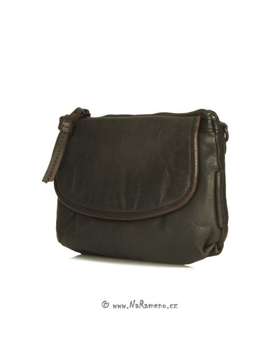 Malá dámská kabelka Aunts and Uncles na pásek nebo na rameno Dragonfruit šedá