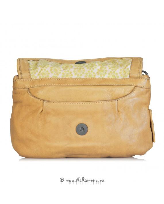 Malá taška Aunts and Uncles na opasek nebo přes rameno Dragonfruit slunečnicové barvy