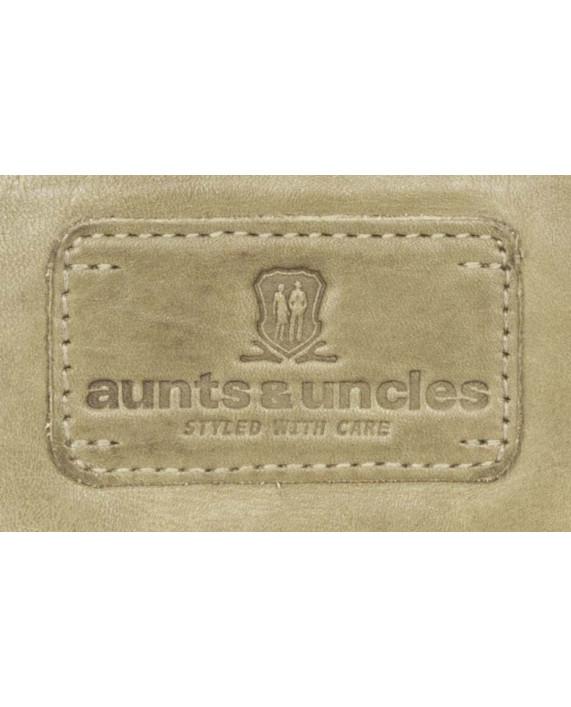 Malá kabelka Aunts and Uncles z kůže Eliza Pretty Soft avokádová zelená
