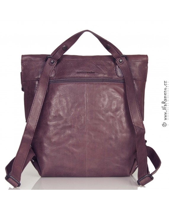 Střední kabelkový batoh 2v1 Aunts and Uncles Mrs.Mince Pie vínový