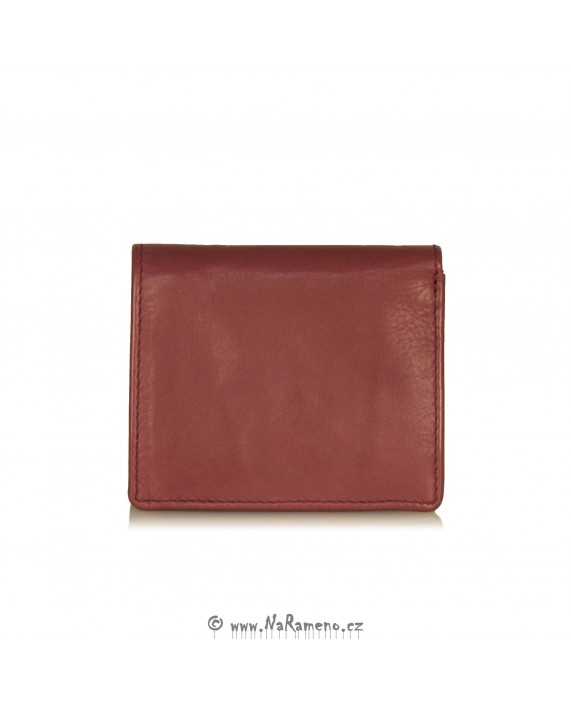 Červená mini peněženka Pear od Aunts and Uncles