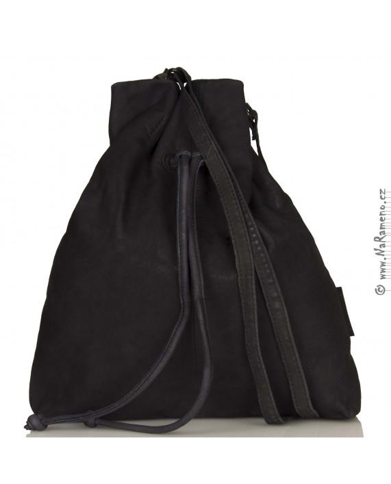 Stahovácí kabelka Aunts and Uncles ve tvaru vaku Rosalie tmavě modrá