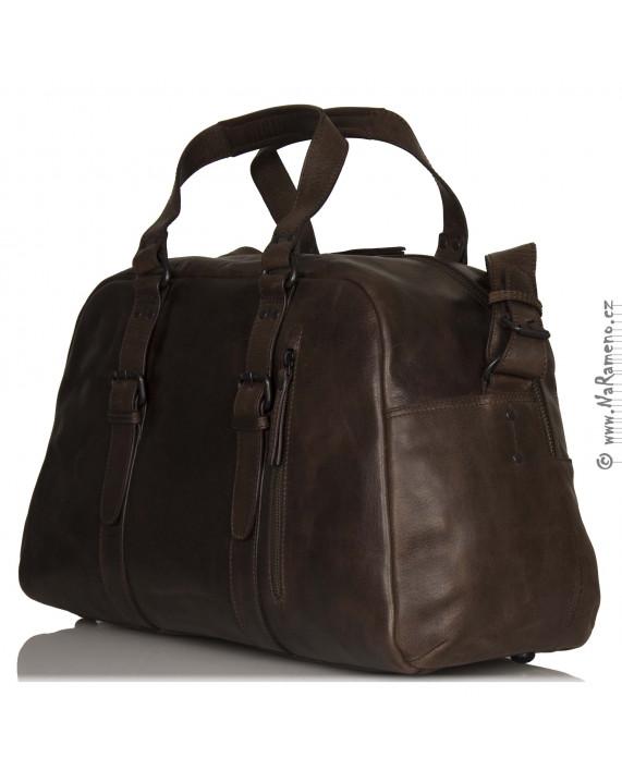 Cestovní taška Aunts and Uncles duffel Vacationist hnědá