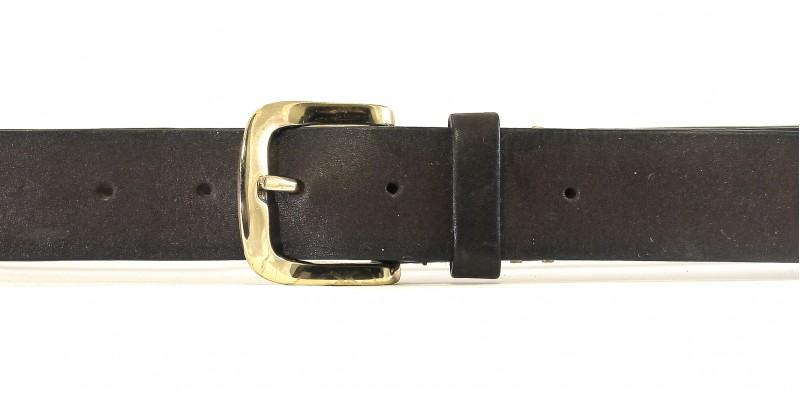 Sportovní pásek HIDESIGN se zlatým kováním CB-08 hnědý