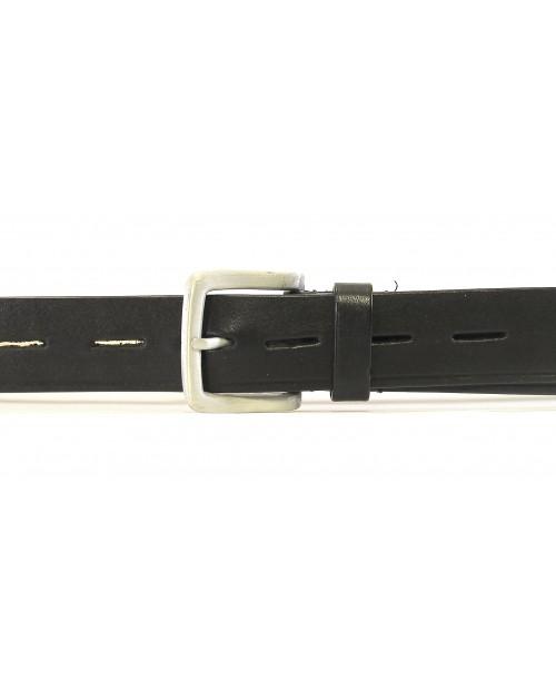 Černý sportovní pásek HIDESIGN s litou otevřenou přezkou SFB-09