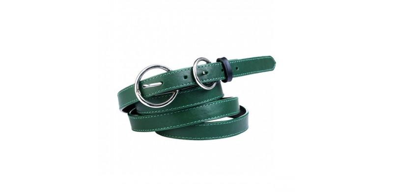 Dvakrát ovinovací pásek HIDESIGN pro ženy SS10W04 zelený