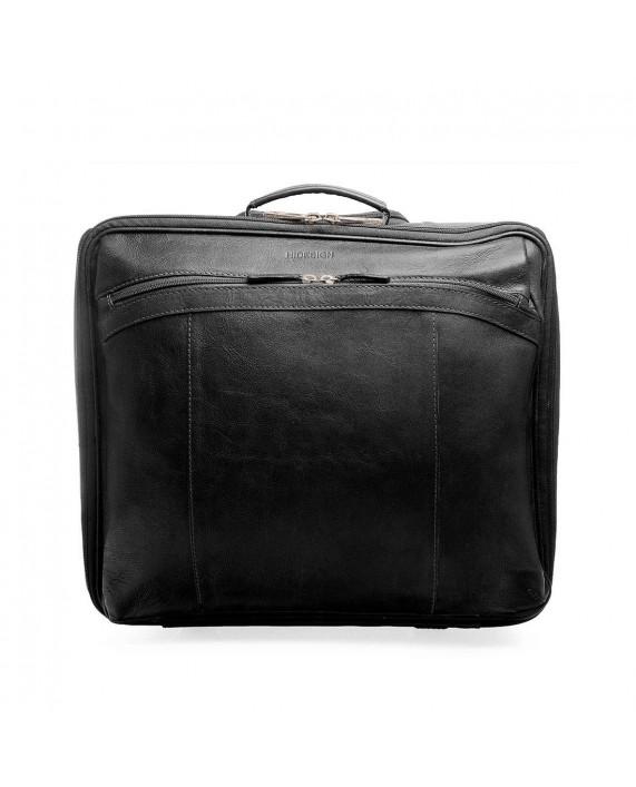 Černý pilotní kufr HIDESIGN na kolečkách z kůže Ridgeway 02