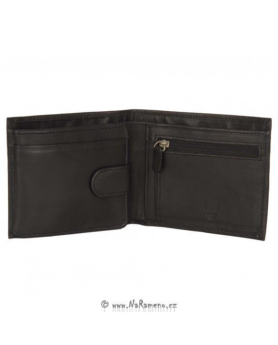 Stylová elegantní pánská peněženka HIDESIGN černé barvy 262L-103F