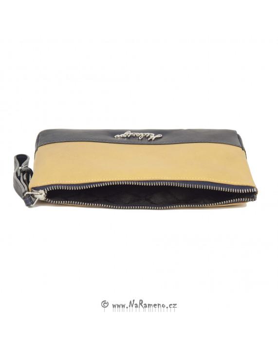 Vícebarevná kosmetická taštička HIDESIGN na zip s poutkem Celine W3