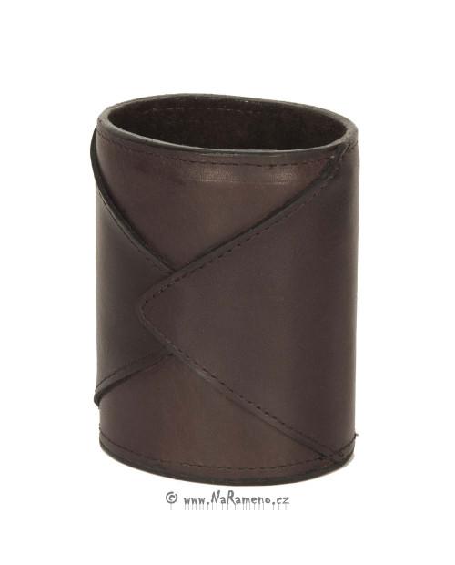 Kožený stojánek HIDESIGN na tužky HD-002 hnědý