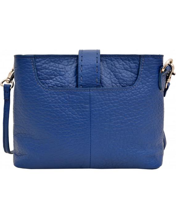 Malá modrá kabelka HIDESIGN pro dámy k džínám Norah W1