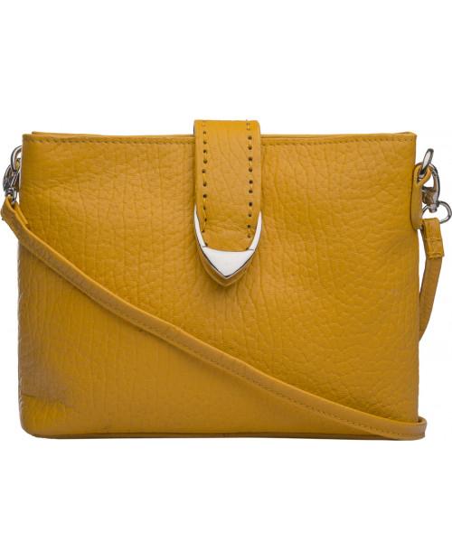 Žlutá kožená taška HIDESIGN přes rameno Norah W1
