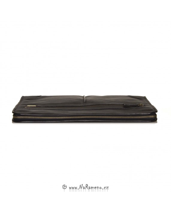 Kožené desky HIDESIGN na dokumenty 1217 černé