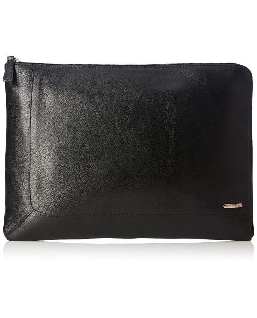 Černé kožené spisové desky na notebook Eastwood 05 od HIDESIGN