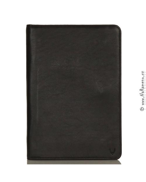 Černá kožená složka HIDESIGN v čistém hladkém designu Img File Folder